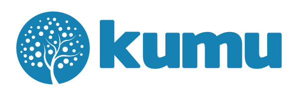 Kumu Logo - Blue (Large)